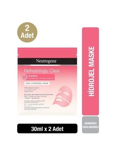 Neutrogena Refrehsingly Clear Arındırıcı Hidrojel Maske X2 Renksiz
